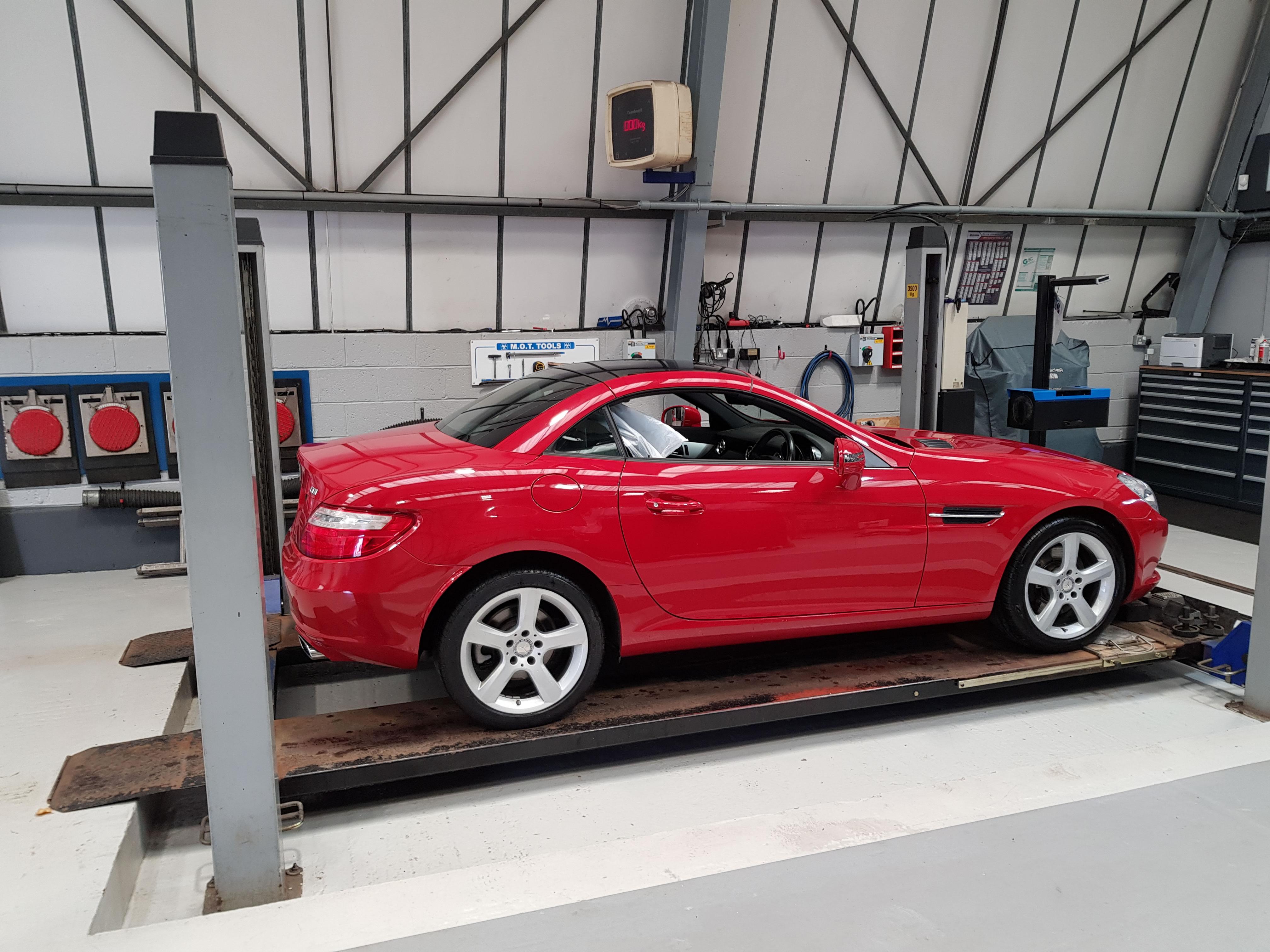 Mercedes Benz - SLK 250 CDi - autotecnic