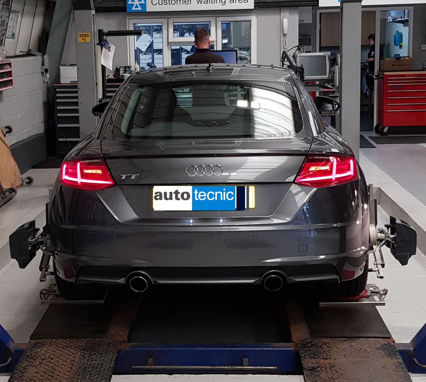 autotecnic - Laser Wheel Alignment - Audi