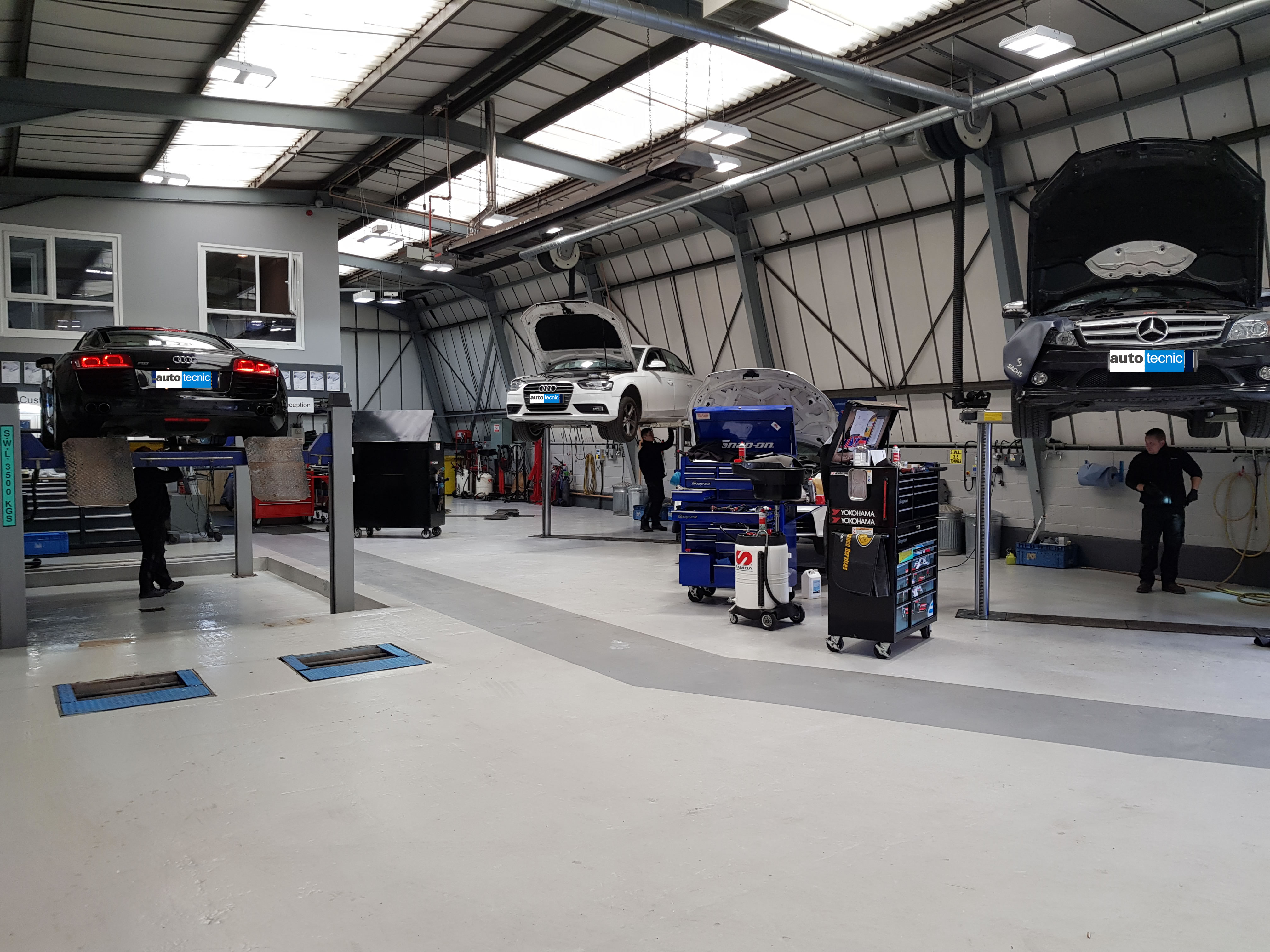 autotecnic - Sheffield - Audi - Mercedes