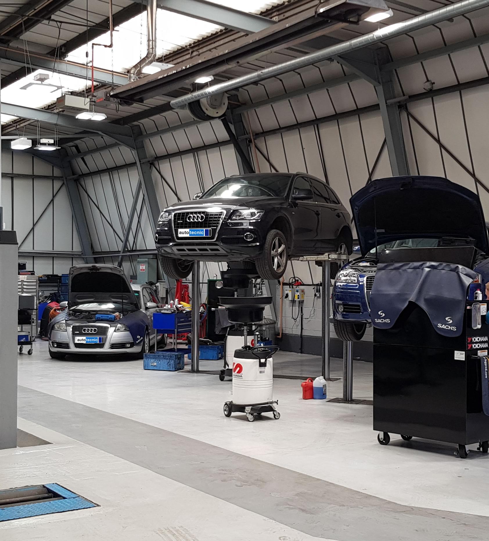 autotecnic - workshop - Audi's