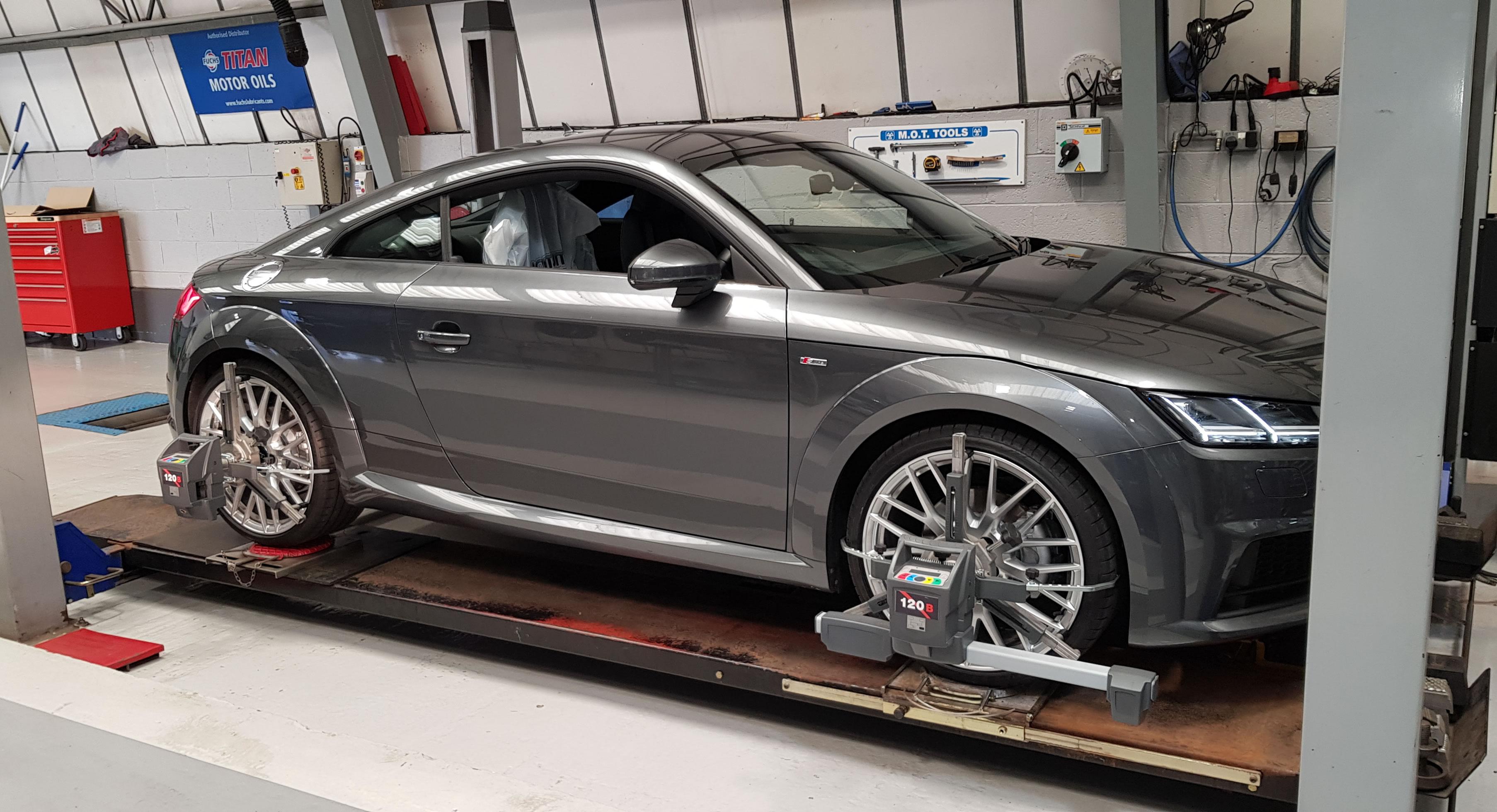 autotecnic - workshop - German Cars - Laser Wheel Alignment