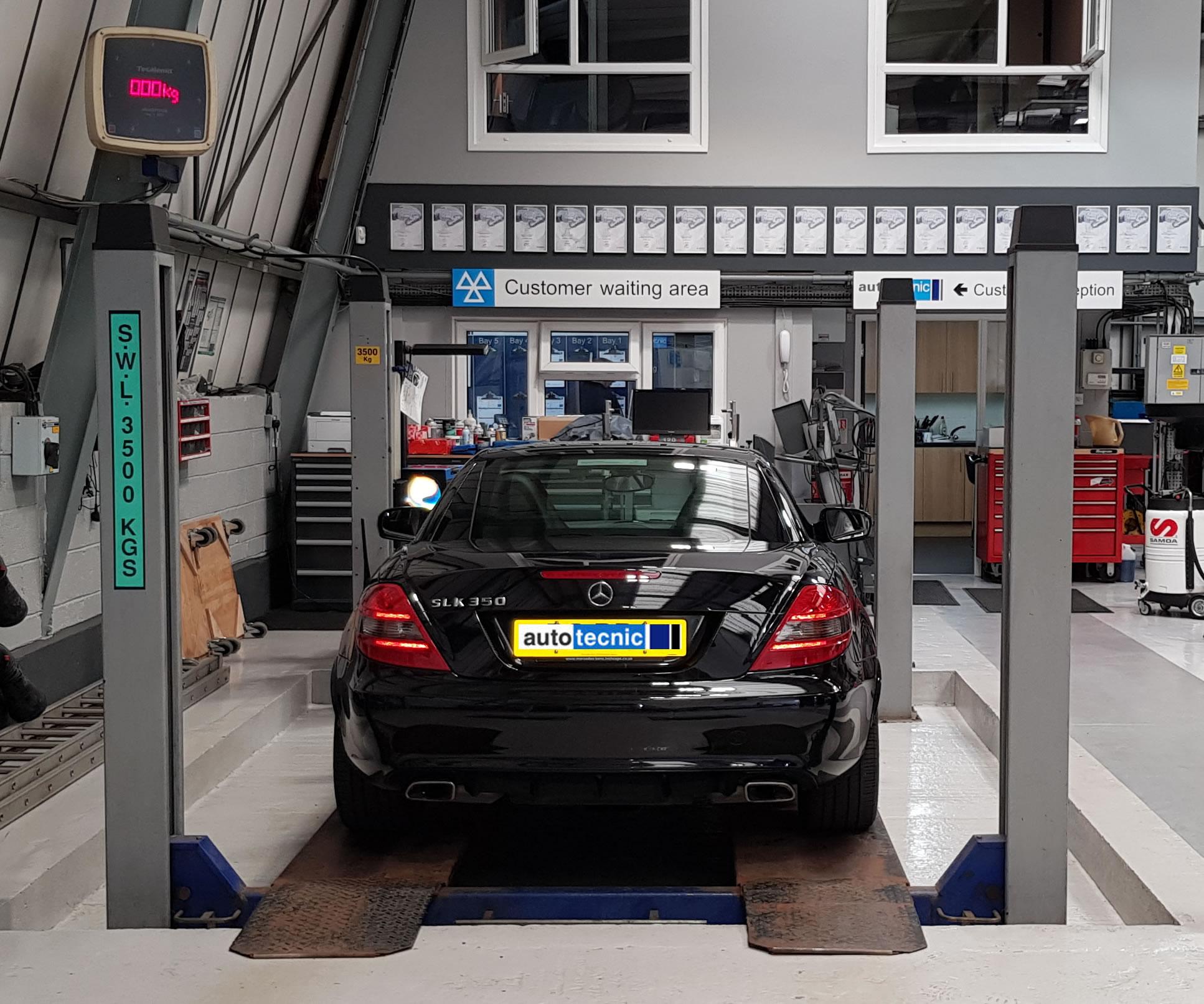 autotecnic - workshop - Mercedes SLK