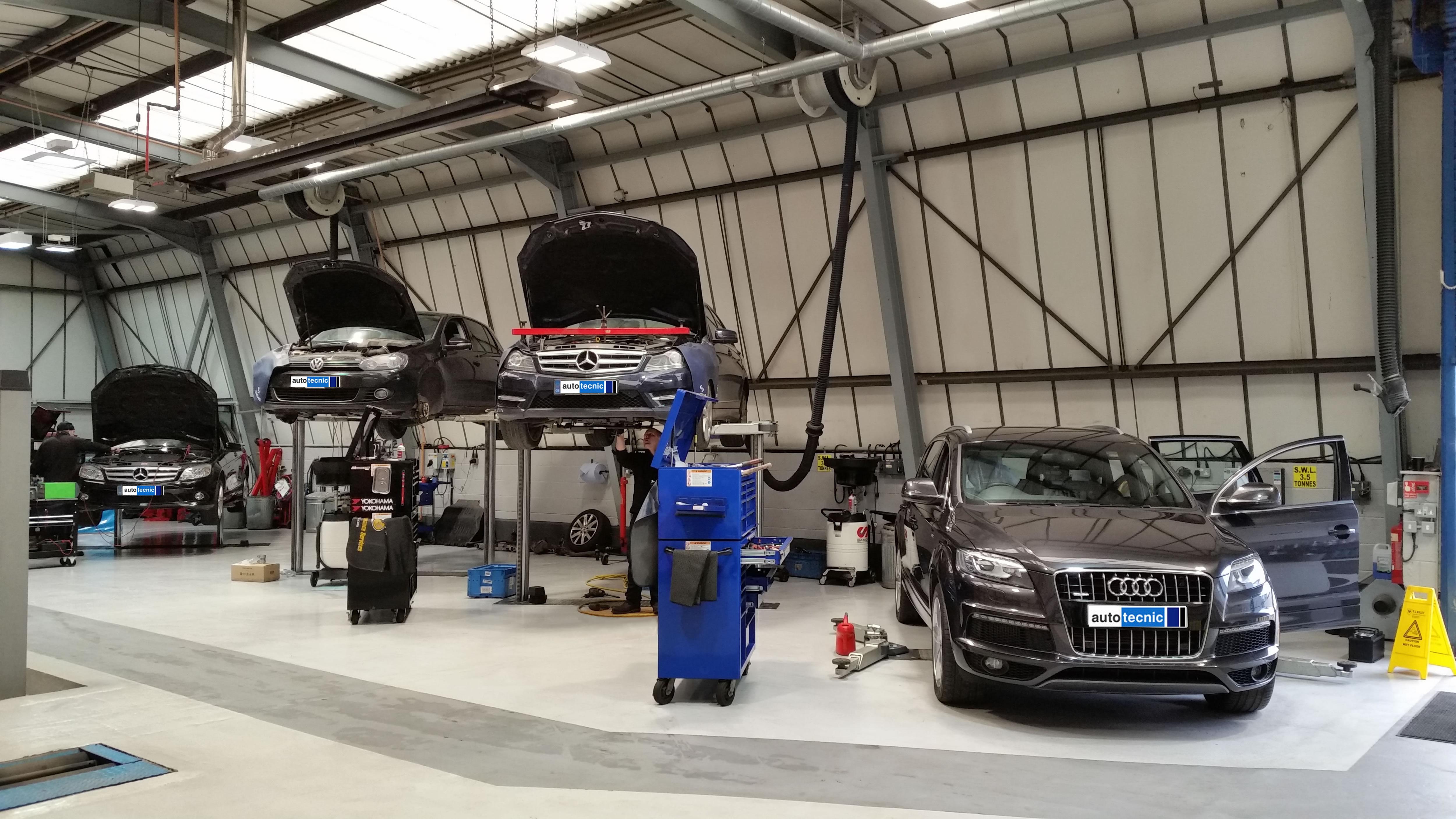 autotecnic - workshop - Mercedes - VW - Audi