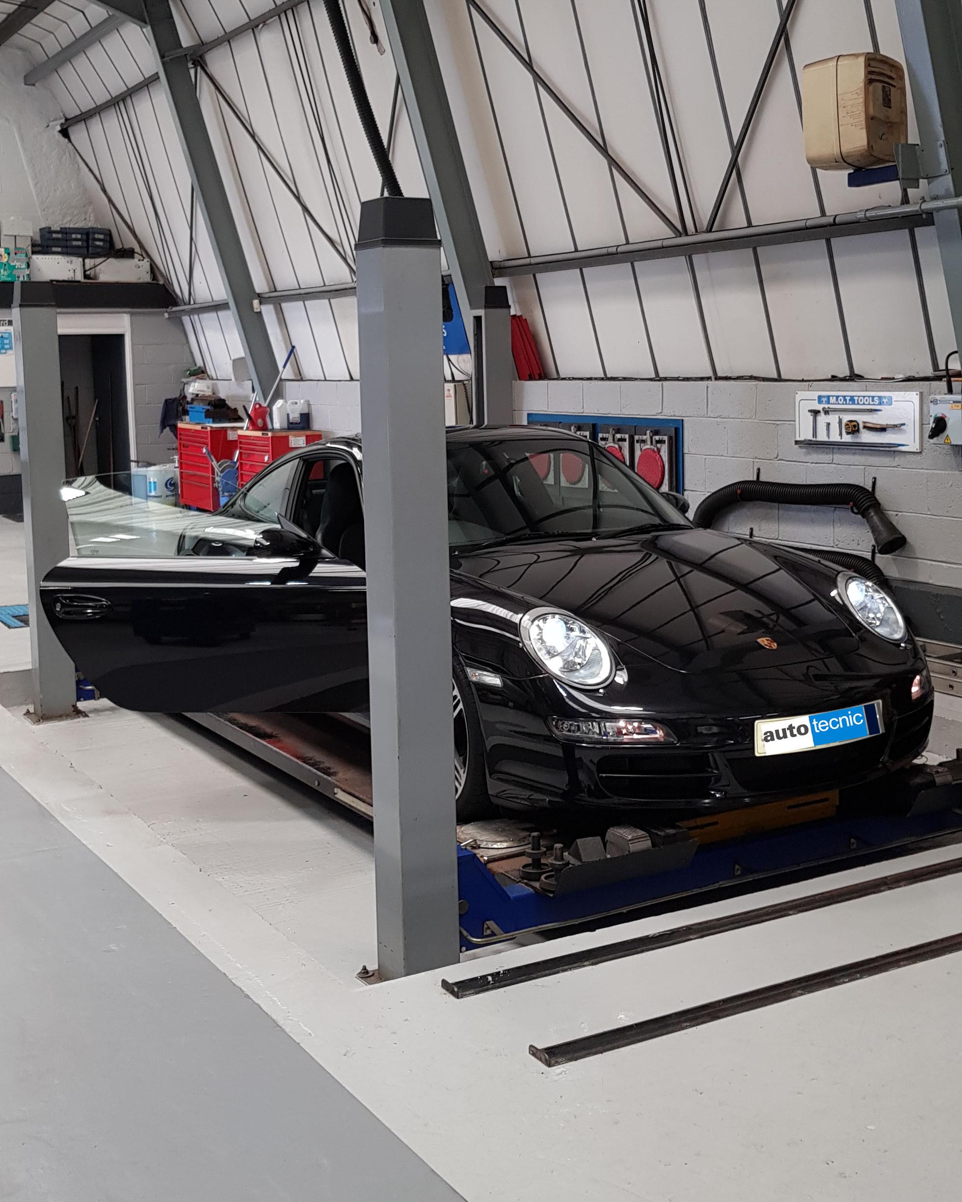 autotecnic - workshop - Porsche Carrera S