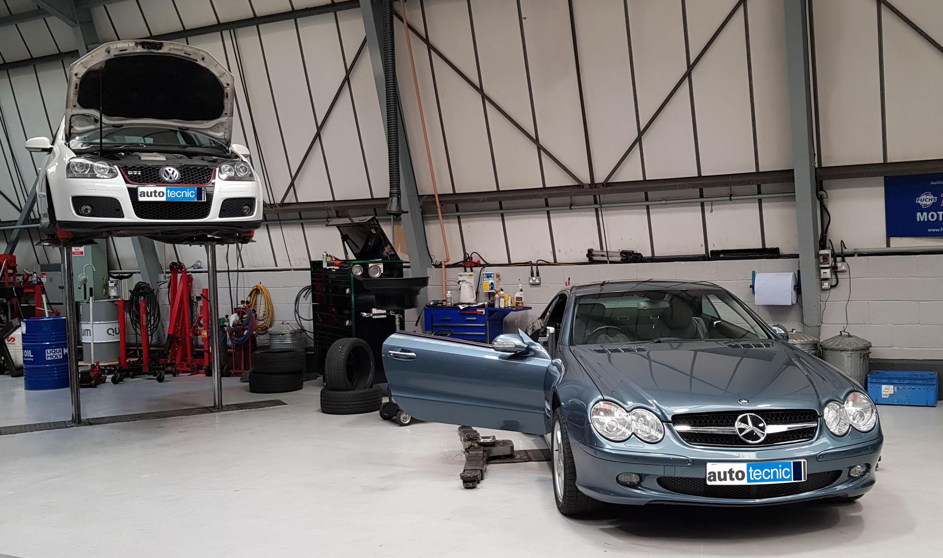autotecnic - workshop - VW GTi - Mercedes Benz