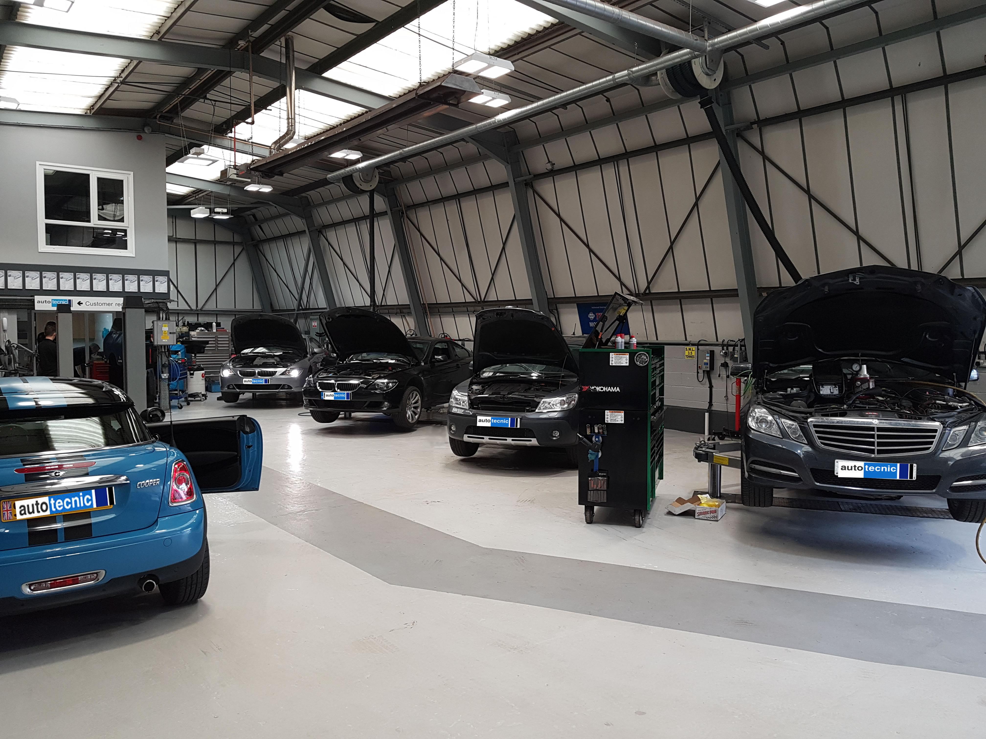 autotecnic - workshop - bmw - mercedes - mini